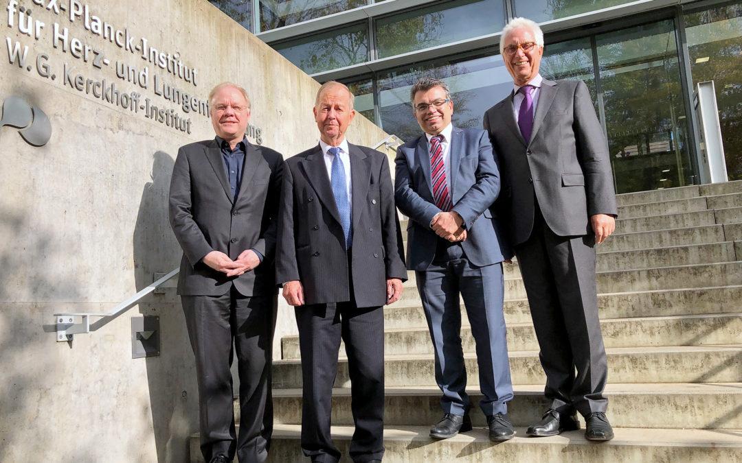 Matthias Willems neues Mitglied im Kuratorium von Max-Planck-Institut und Kerckhoff-Stiftung